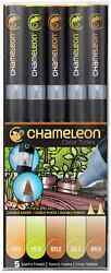 CHAMELEON COLOR TONES MARKERS - 5 SET - EARTH TONES