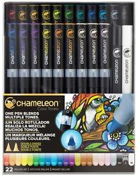 CHAMELEON COLOR TONES MARKERS - 22 PEN DELUXE SET - VARIOUS COLOURS