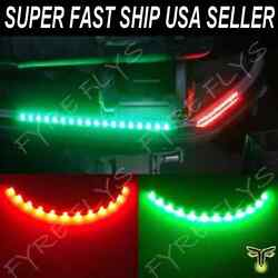 Red And Green Led Lighting Bass Boat Bow Navigation Lights Marine For Triton Nitro