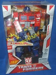 Transformers 20th Anniversary Dvd Edition Optimus Prime New Factory Sealed