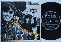 Johnny Young It's A Sunny Day Mrs Willoughby Rare Ep Pop/psych Oz 1968 Clarion