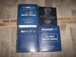 1998 Lincoln Continental Mark VIII 8 Town Car Factory Parts Catalog Manual Set