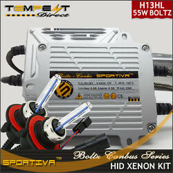 Ford F150 2004 -2014 H13 9008 Hid Xenon Ac Canbus 55 Watts Hilo Quick Start Kit