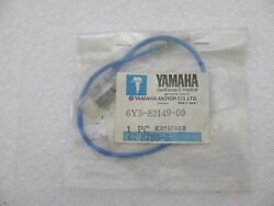 Yamaha Oem Outboard Rigging Wire Lead 6y5-82149-00-00 Blue