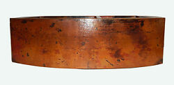 27 Rounded Apron Front Farmhouse Kitchen Double Bowl Mexican Copper Sink 60/40