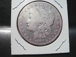 1892-cc Morgan Silver Dollar Over 125 Years Old / Part Of United States History