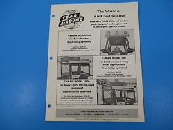 Original 1950's Year-a-round Tractor Cab Enclosure Ad Deere Oliver Ford M1416
