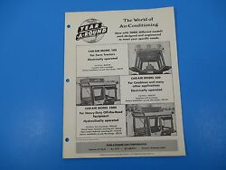 Original 1950and039s Year-a-round Tractor Cab Enclosure Ad Deere Oliver Ford M1417