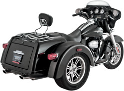 Vance And Hines Chrome Trike Deluxe Slip Ons For Harley Trike 2015-2016