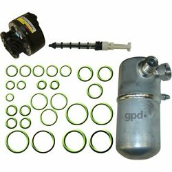GPD AC AC Compressor Kit New Chevy With clutch Chevrolet C1500 Truck 9712921