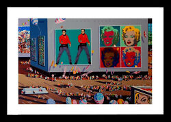 Hiro Yamagata Andy Warhol Museum Limited Edition Serigraph Signed And Numbered