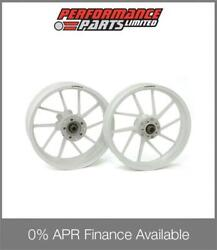White Galespeed Type R Forged Alloy Wheels Yamaha Yzf R1 2004-2006 0 Finance
