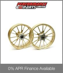 Gold Galespeed Type S Wheels Honda Cbr1000rr 2004-2005 0 Finance Available