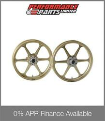 Gold Galespeed Type N Wheels Honda Cb1300 2014-2017 Abs 0 Finance Available