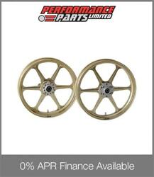 Gold Galespeed Type N Wheels Honda Cb1300 2003-2013 Abs 0 Finance Available