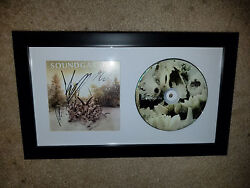 100 Authentic Presale Soundgarden Chris Cornell Band Signed Framed Display A