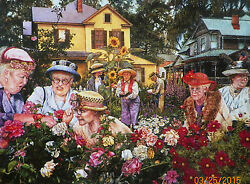 Puzzle ..brabeau.....ladies Garden Club.....500...nvr Opned