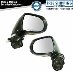 Exterior Power Heated Turn Signal Memory W/ Puddle Light Mirror Pair For Lexus