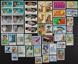 Us 1988 Commemorative Year Set Collection Of 48 Stamps Incl. Airmails Mint Nh