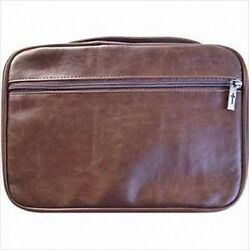 Bible Cover - Distressed Leather Look-extra Extra Large-brown