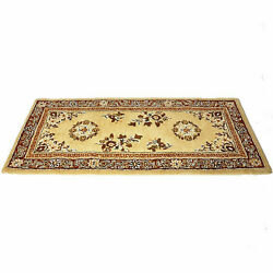 56x26 Oriental Rectangle Wool Fire Resistant Fireplace Hearth Rug Carpet