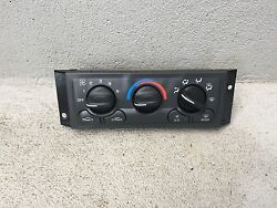97-99 Chevrolet Venture AC Heat Climate Control 16199551 OEM Or Owned Used GM