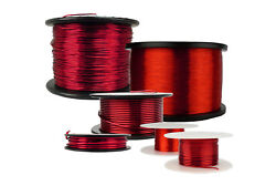 Temco Magnet Wire 10 To 45 Awg Gauge Enameled Copper 155c Arts And Crafts Red