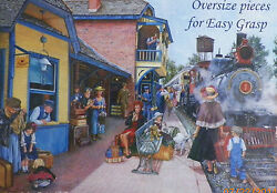 .puzzle...jigsaw....brabeau....at The Station......500pc..sealed...
