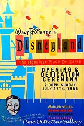 Disneyland Anaheim Opening Night 1955 - Poster - Available In 5 Sizes