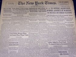 1946 March 1 New York Times - Police Battle Pickets In Philadelphia - Nt 3453