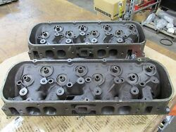 1966 Big Block Chevy 396 427 Oval Port Heads 3872702 702 A-4-6 A-14-6