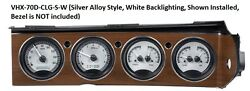 Dakota Digital 70-74 Challenger Cuda with Rallye Dash Gauges Kit VHX-70D-CLG-S-W