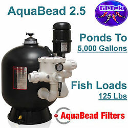 Gc Tek Aquabead 2.5 Bead Filter Ab2.5 For Ponds To 5000 Gallons 125 Fish Loads