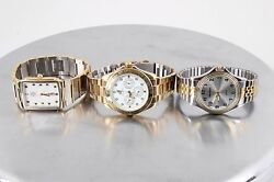 For Parts And Or Repair Three Watches Daisy Fuentes, Bill Robinson And Milan 8224