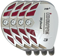 Idrive Hybrid 4-club Set Right Hand Graphite Shafted Choose 1 To Lw