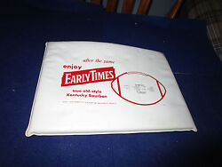 1963 Baltimore Colts Football Schedule Early Times Seat Cushion