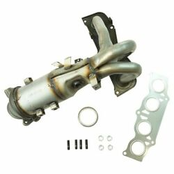 Engine Exhaust Manifold W/ Catalytic Converter Gaskets And Hardware Kit For Toyota