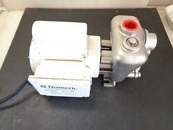 Model 1010037 Dometic Pump With Stainless Steel Seawater Pump Head 115/230v