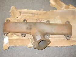 Nos 1960 1961 1962 Ford 352 390 Exhaust Manifold Driver Side Lh