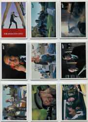 James Bond Archives 2017 For Your Eyes Only Throwback Complete 36 Card Chase Set