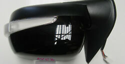 Passenger Side Left For Isuzu Dmax Electric Mirror With Indicator 6 Pin 08/12