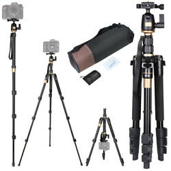 60quot; Professional Aluminium Tripod Monopod w Ball Head Travel for DSLR Camera $51.90