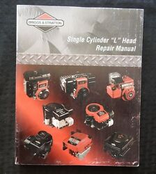 Briggs And Stratton Single Cylinder L Head Engine Service Repair Manual Good One