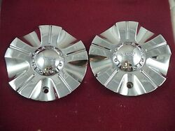 Incubus Wheels Chrome Custom Wheel Center Caps Emr525-cap-truck 2 Caps