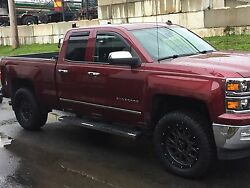 20 Vision 412 Rocker Fuel At 305/55r20 Wheel And Tire Package Chevy Gmc 6x139.7