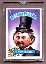 1985 Topps GPK Garbage Pail Kids UNPUBLISHED Proof Set #199A