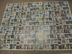 1969 Topps Man On The Moon Uncut Finished Sheet - 264 Cards