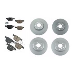 For Bmw F07 535i Gt Xdrive 11-14 Front Rear Left And Right Brake Rotors And Pads