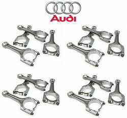 Vw Beetle Gti Audi A4 A3 Engine Connecting Rod Set Genuine 06h198401d New