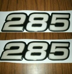 285 Boat Decals Gold Series